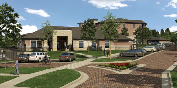 The Residence at Gateway Village 3D Render
