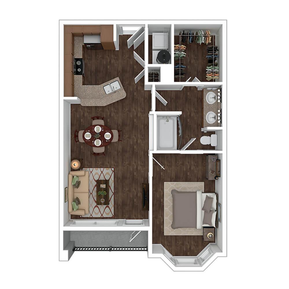 The Residence at Gateway Village Plan B