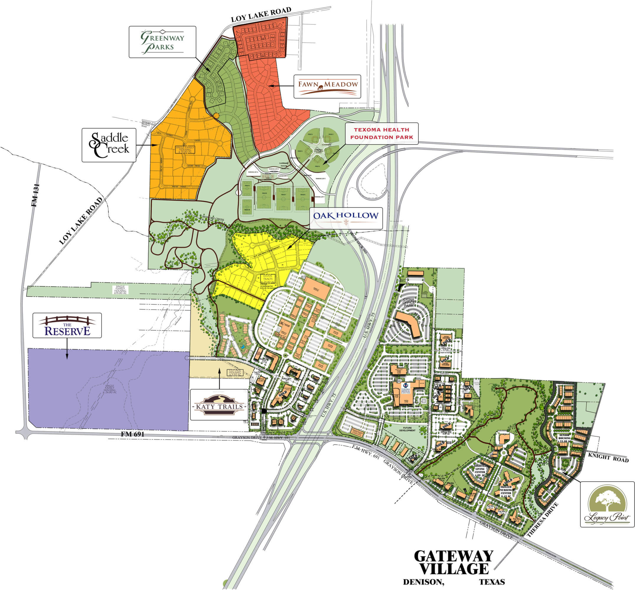 Reserve At Town Center: Gateway Village