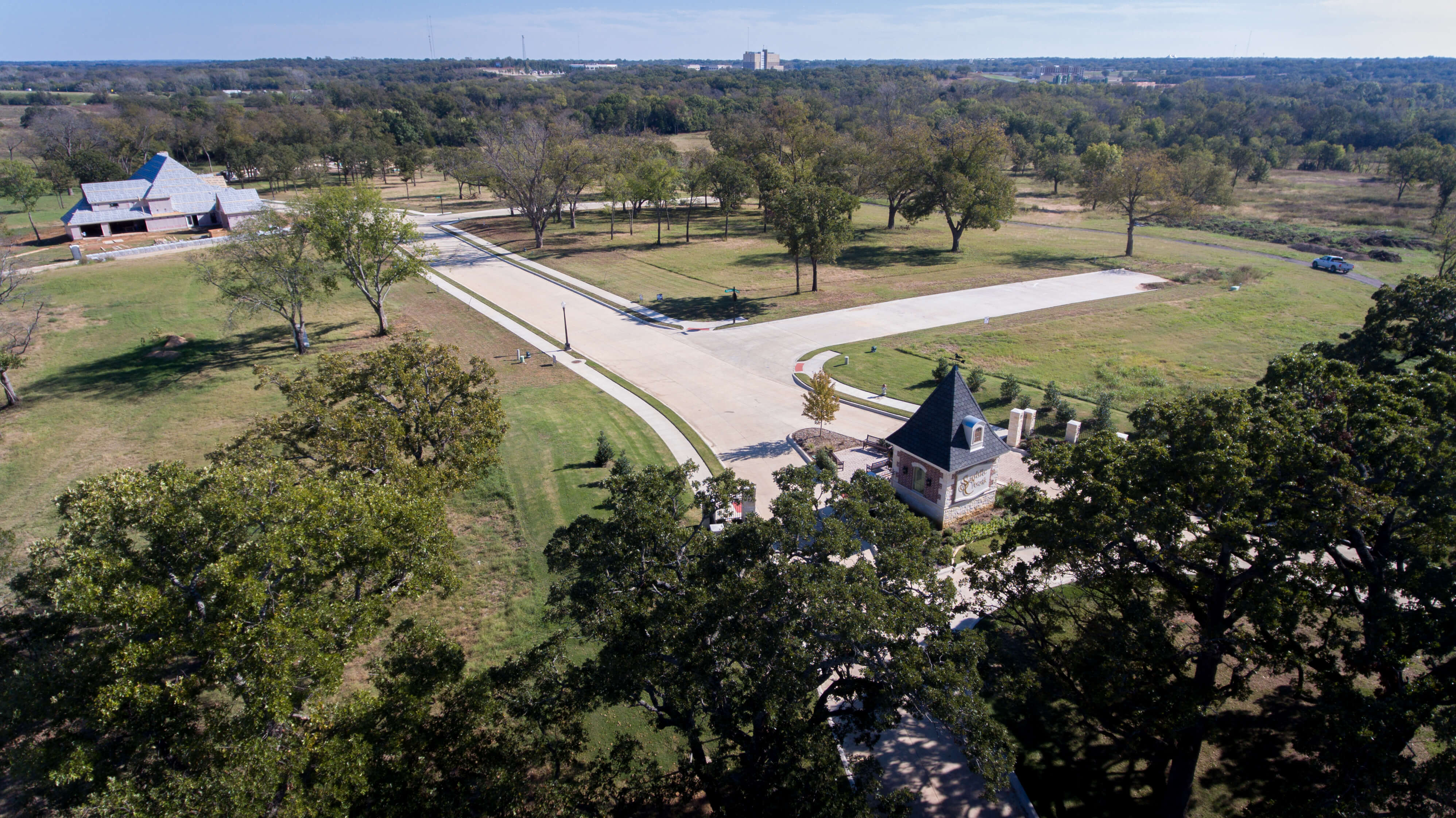 Saddle Creek Aerial View